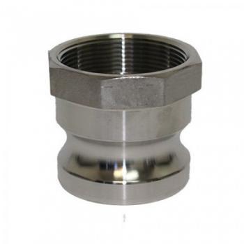 Бърза връзка Camlock Тип - A - Неръждаема стомана