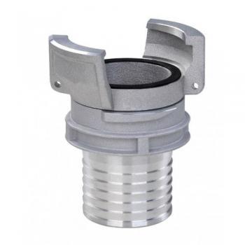 Накрайник тип GUILLEMIN, с контра с опашка за маркуч, алуминий, 16bar